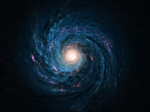 Milky Way Spiral